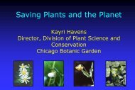 Saving Plants and the Planet - Illinois Sustainable Technology Center