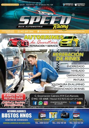 revista racing julio  WEB 2018