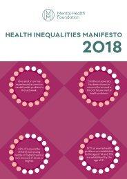 health-inequalities-manifesto-2018