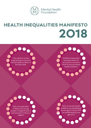 health-inequalities-manifesto-2018