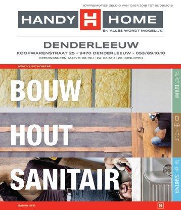 Folder juli 2018 - Bouw, hout, sanitair