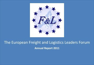 The European Freight and Logistics Leaders Forum