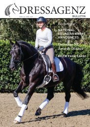 Dressage NZ Bulletin