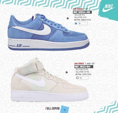Nike Air Force Fly Urbanas Talle 42 5 Hombre Zapatillas en