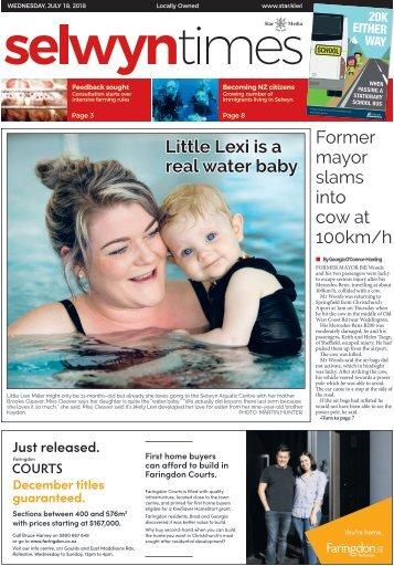 Selwyn Times: July 18, 2018