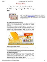 Buy Kamagra Chewable