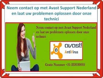 Neem contact op met Avast Support Nederland en laat uw problemen oplossen door onze technici