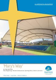 Mary's Way - Volume 1, Edition #1 - July 2018