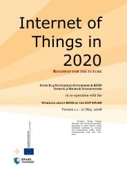 Internet of Things in 2020: Roadmap for the future - RFID - The ...