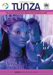 """AVATAR: REACHING THE HEART """"We should not be afraid ... - UNEP"""