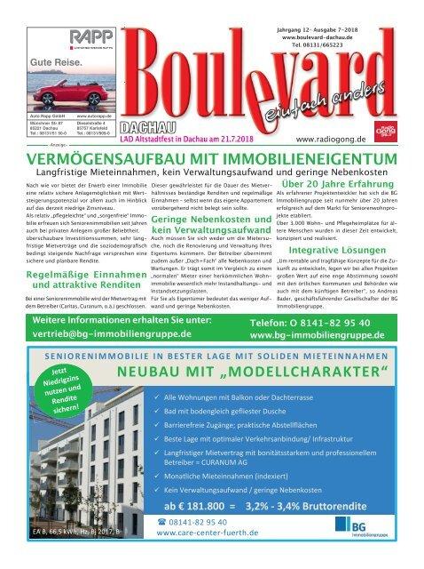 Boulevard Dachau Ausgabe 7-2018