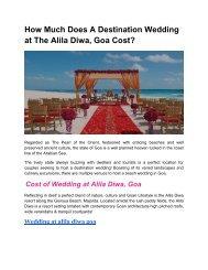 Wedding at The Alila Diwa Goa