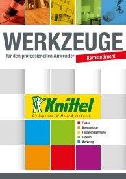 Werkzeuge Kernsortiment bei Knittel
