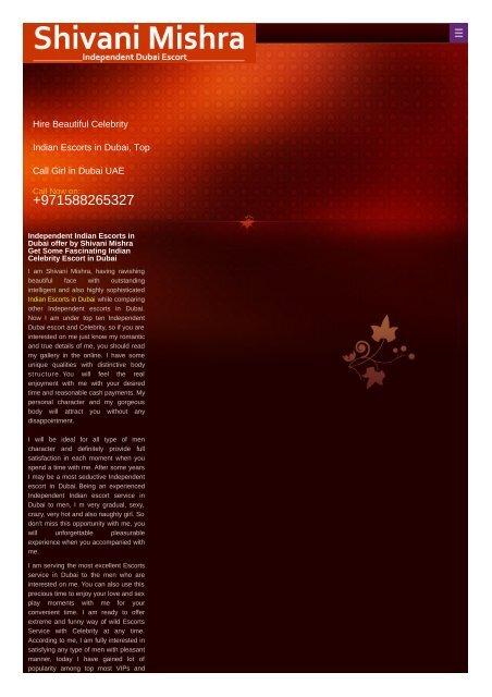 Indian Escorts in Dubai +971589632038 Dubai Independent Escort Service