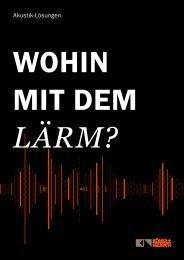 WEMA RaumKonzepte: König+Neurath - Akustik Themenheft
