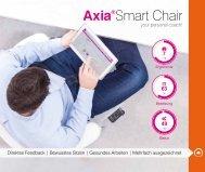 WEMA RaumKonzepte: bma - Axia Smart Chair