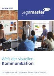 WEMA RaumKonzepte: Legamaster - Katalog 2018