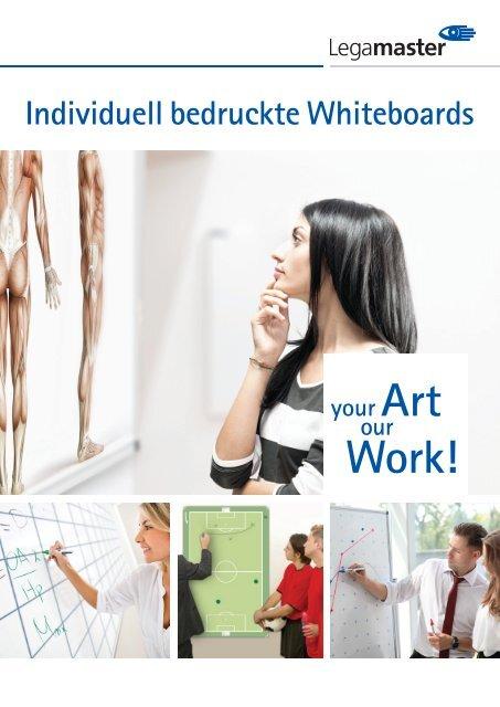 WEMA RaumKonzepte: Legamaster - Individuell bedruckte Whiteboards