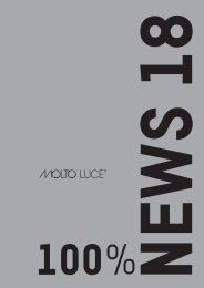 WEMA RaumKonzepte: Molto Luce - News 2018