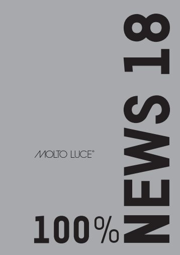 WemaRaumkonzepte: Molto Luce - News 2018