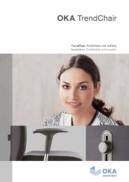 WEMA RaumKonzepte: OKA TrendChair - Komfortabel & vielfältig