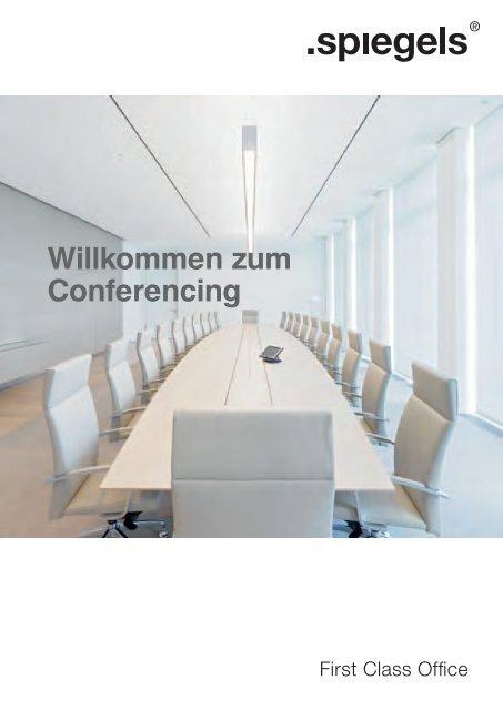 WEMA RaumKonzepte: spiegels - Willkommen zum Conferencing