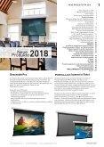 WEMA RaumKonzepte: Kindermann - Projektionswände 2018 Produktkatalog - Seite 3