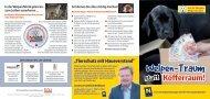 Kampagne: Welpen-Traum statt Kofferraum