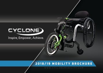 Cyclone Mobility Brochure 2018
