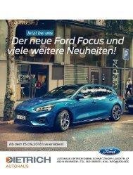 Autohaus Dietrich   Neuwagen News 07-2018