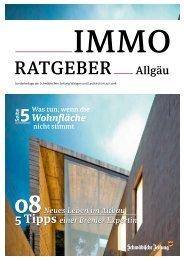 Immo Ratgeber Allgäu Juli 2018