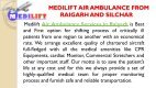An Affordable Medilift Air Ambulance from Raigarh and Silchar - Page 2