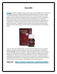 Normalife - Increases Metabolism to Reduce Excess Fat