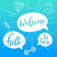 Welcome card - Active Leisure