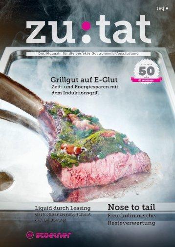 Zutat 06/2018 Das Magazin fur perfekte Gastronomie-Ausstattung