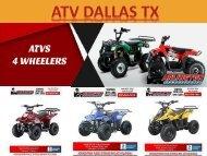 Atv Dallas TX