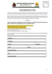 Edital PP 17_2018_Aquisição de equipamento e material permanente_Repasse FNS