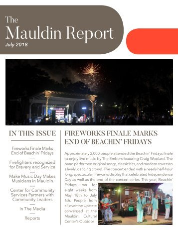 July 2018 Mauldin Report