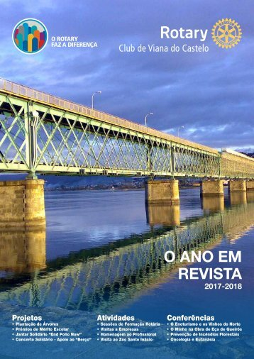 O Ano em Revista, 2017-2018 - Rotary Club de Viana do Castelo
