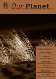deserts and drylands - UNEP
