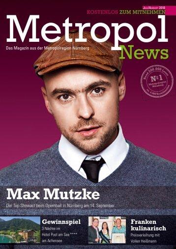 Metropol News Juli 2018