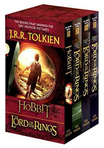 [PDF] Download The Hobbit and the Lord of the Rings Set: The Hobbit, the Fellowship of the Ring, the Two Towers, the Return of the King Online