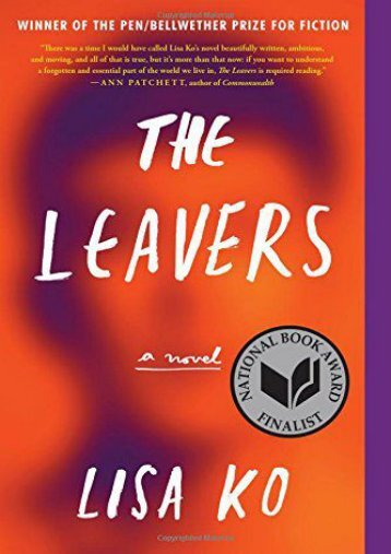 Download PDF The Leavers Online