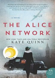 Download PDF The Alice Network: A Novel Online