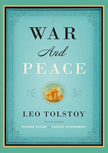 [PDF] Download War and Peace (Vintage Classics) Online