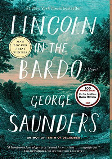 [PDF] Download Lincoln in the Bardo Full