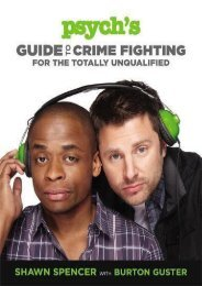 Download PDF Psych s Guide to Crime Fighting for the Totally Unqualified Full