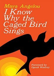 Download PDF I Know Why the Caged Bird Sings Online