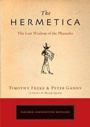 [PDF] Download The Hermetica: The Lost Wisdom of the Pharaohs Full