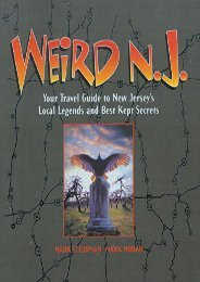 Download PDF Weird N.J: Your Travel Guide to New Jersey s Local Legends and Best Kept Secrets Full